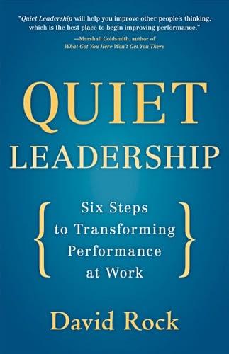 Quiet Leadership Bringing Books to Life